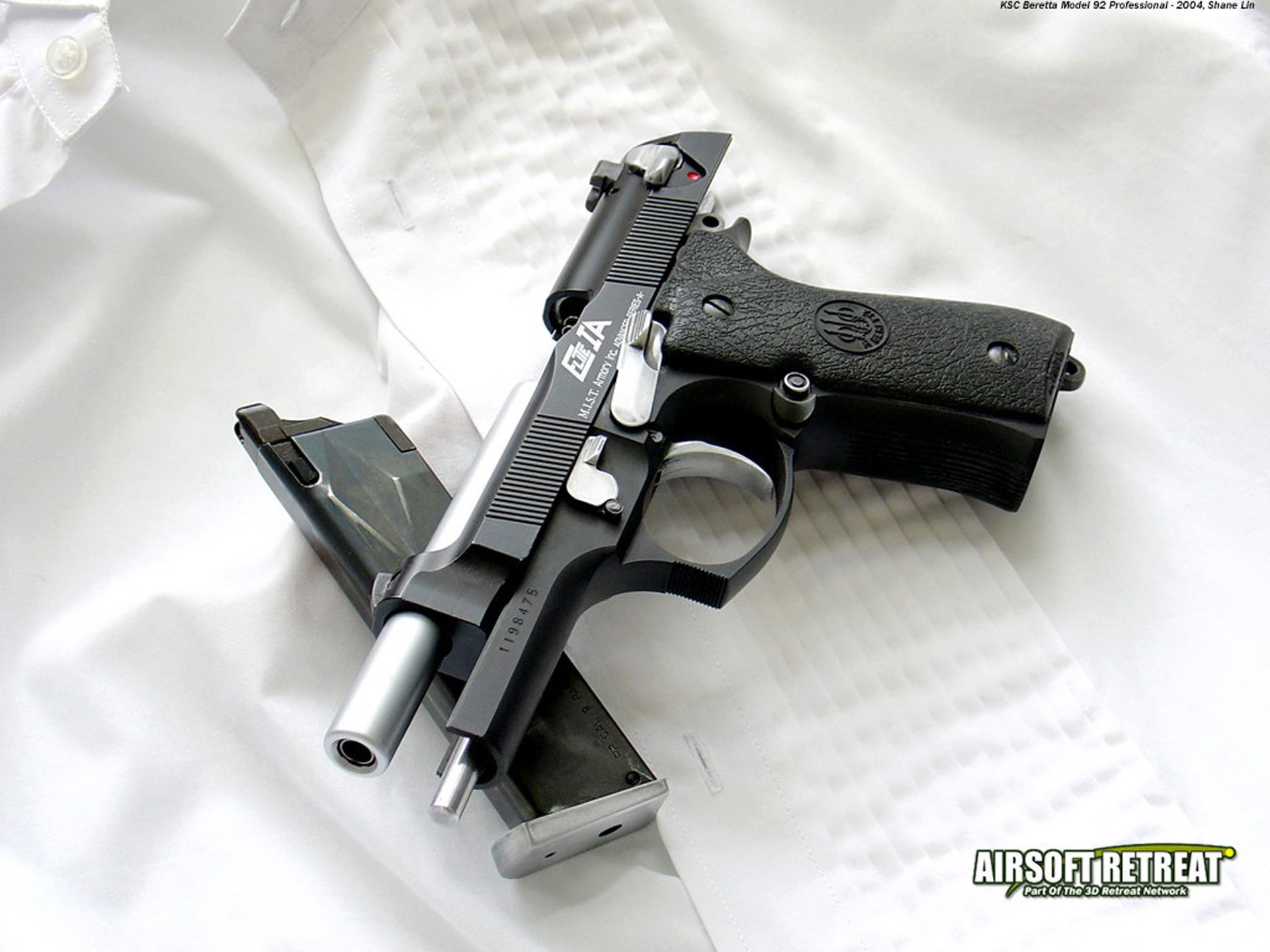 Weapons - Airsoft Pistol  Wallpaper