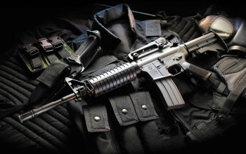 Wapens - Assault Rifle Wallpapers and Backgrounds ID : 223399