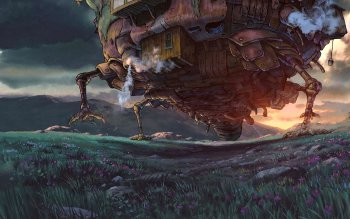 Movie - Howl's Moving Castle Wallpapers and Backgrounds ID : 223739