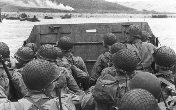 Military D-Day Wars Historic Black & White HD Wallpaper | Background Image