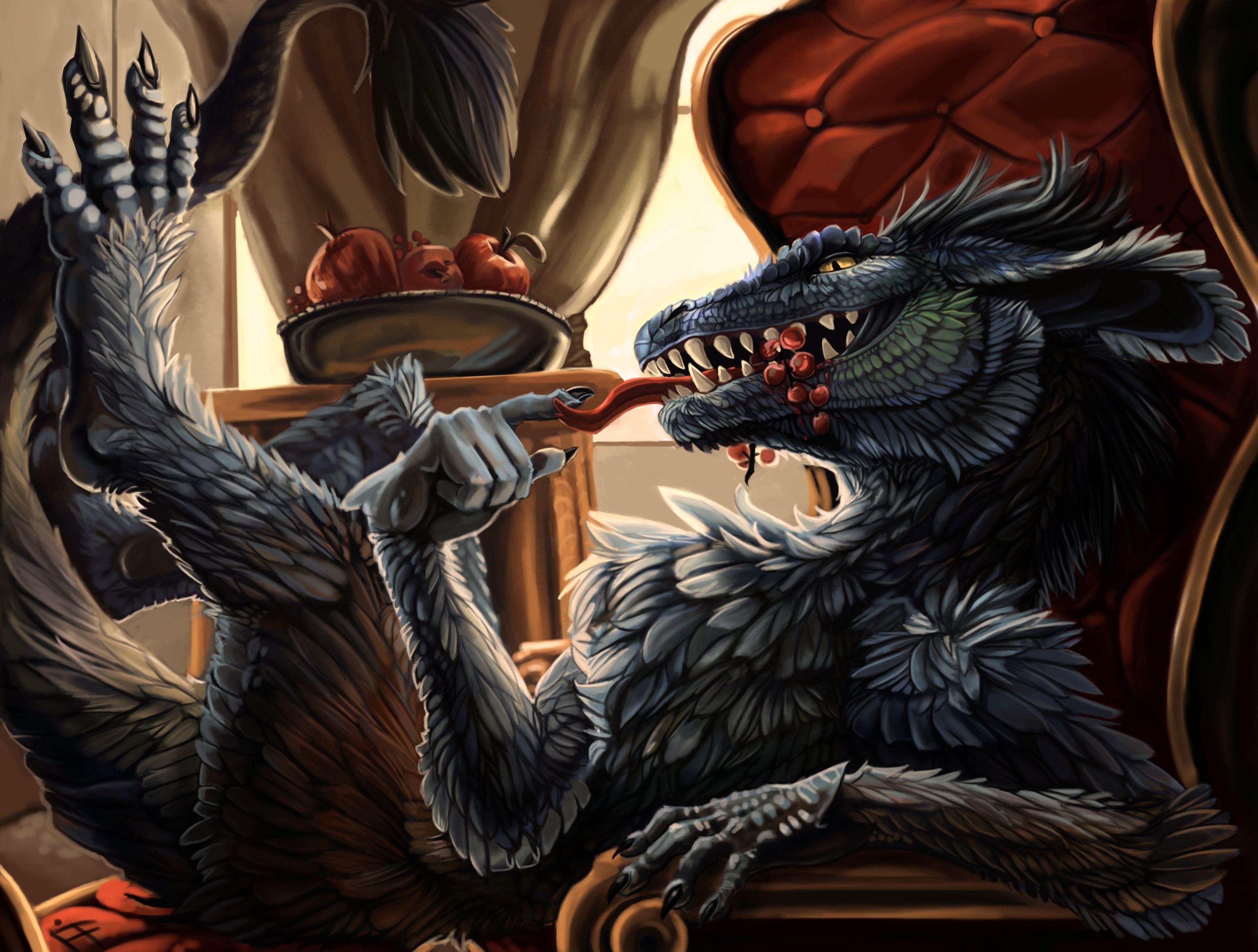 Fantasy - Dragon  Creature Wallpaper