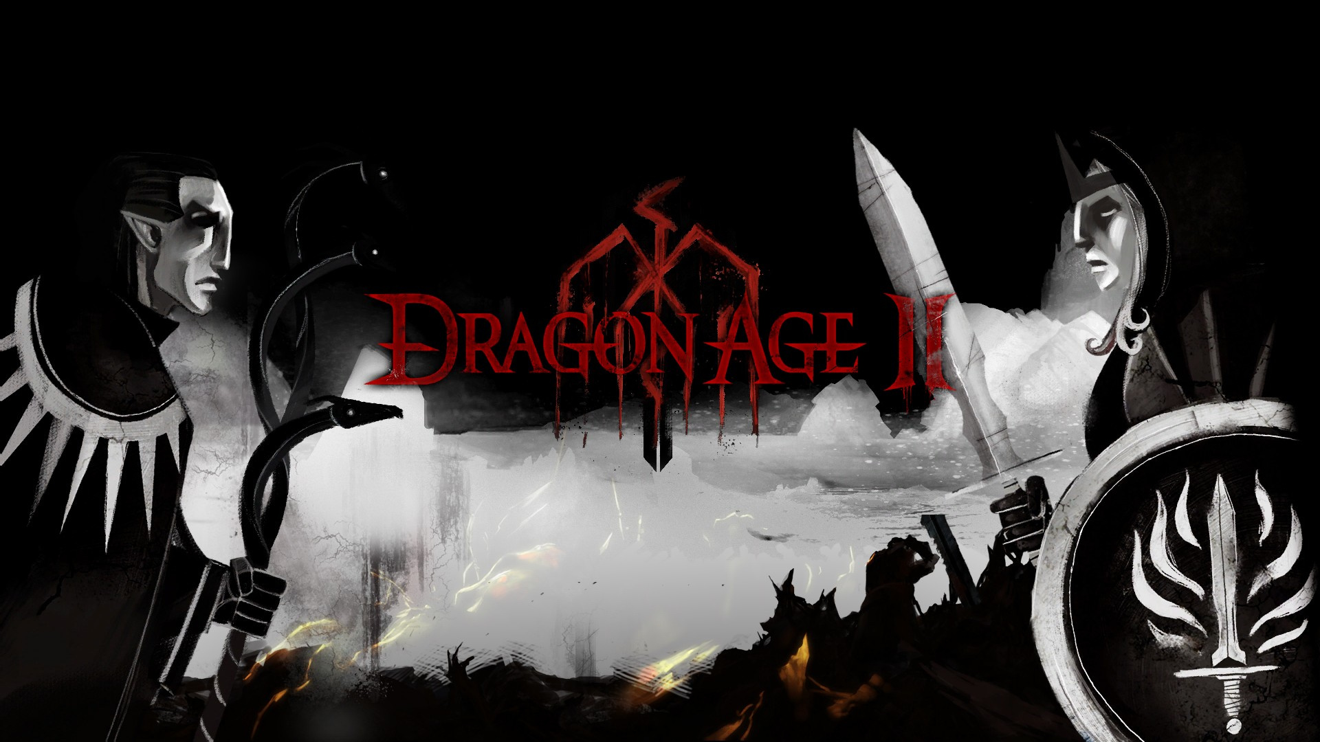 Dragon Age Ii Hd Wallpaper Background Image 1920x1080 Id