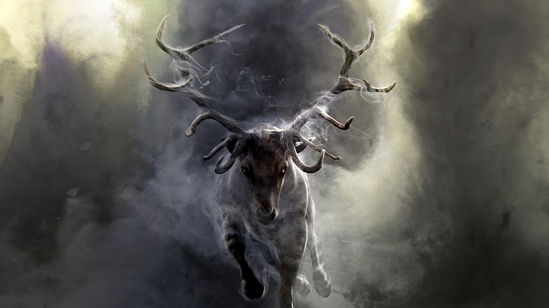 Fantasía - Deer  Fondo de Pantalla