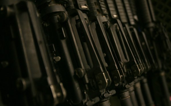 Weapons Assault Rifle HD Wallpaper   Background Image