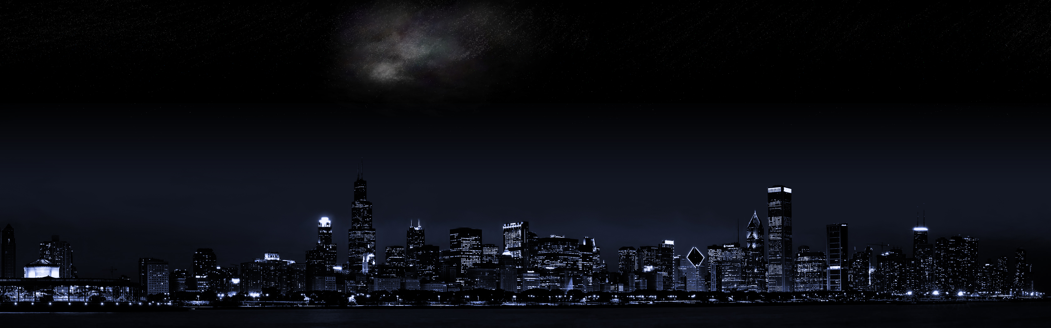 City Wallpaper and Background Image | 3360x1050 | ID:22579 ...