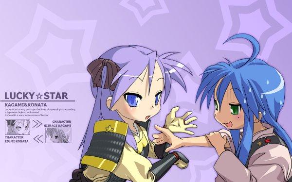 Anime Lucky Star Konata Izumi Kagami Hiiragi HD Wallpaper | Background Image