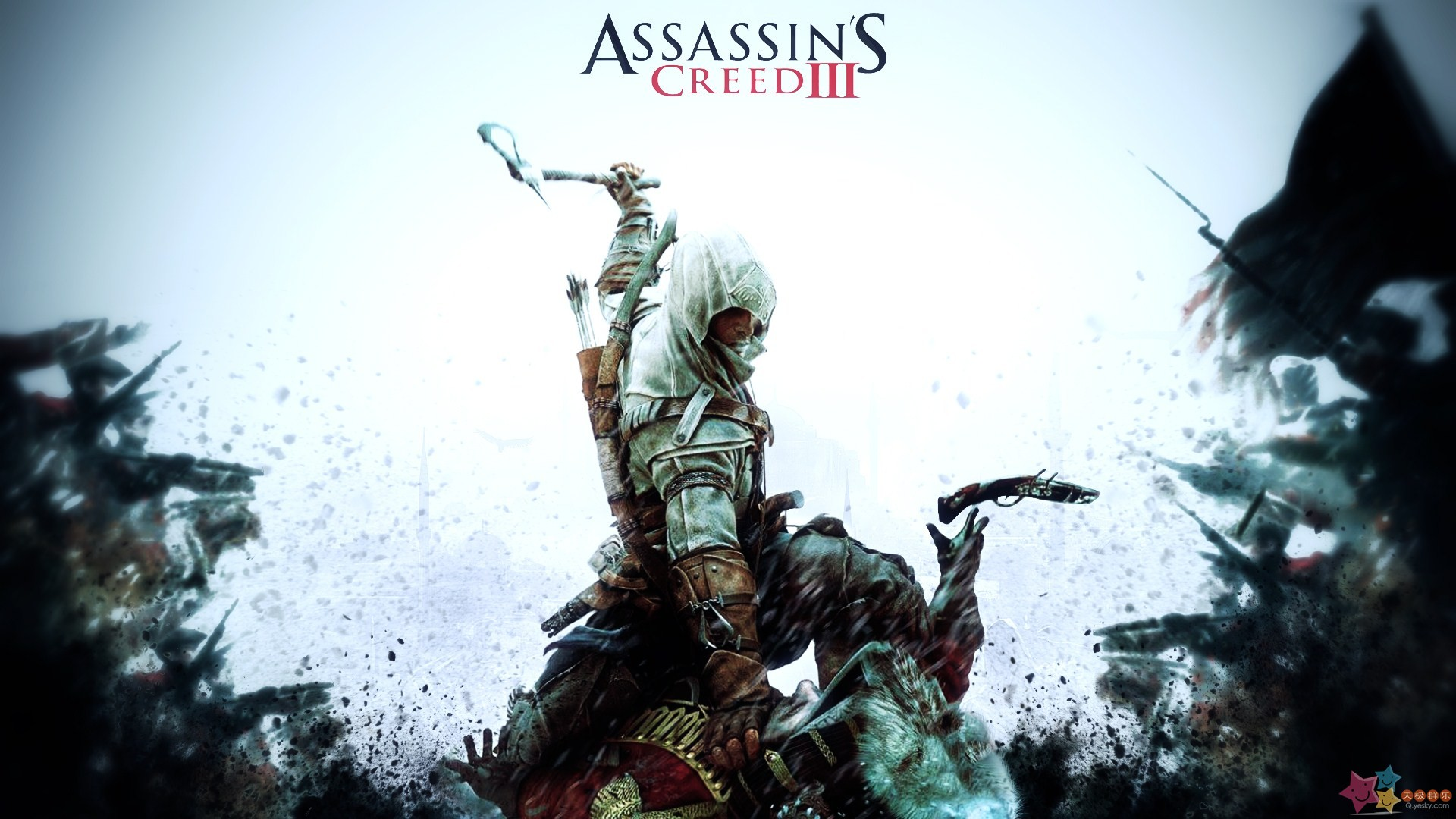 Video Game - Assassin's Creed III  - Assassin - Game - Cgi Wallpaper