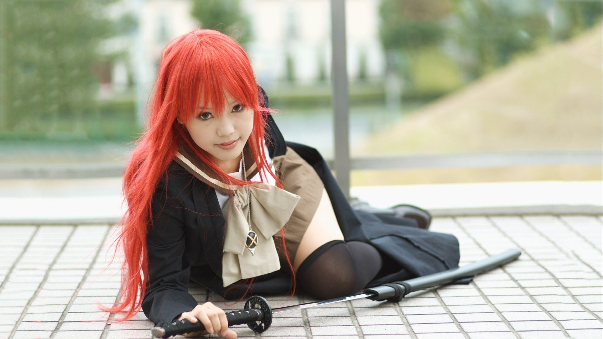 Women - Cosplay  Shana (Shakugan No Shana) Wallpaper
