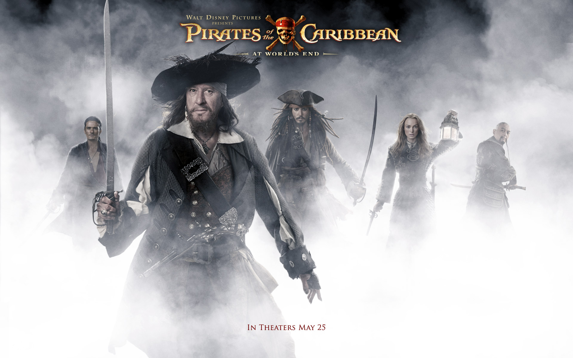 Pirates Of The Caribbean At World S End Hd Wallpaper Background