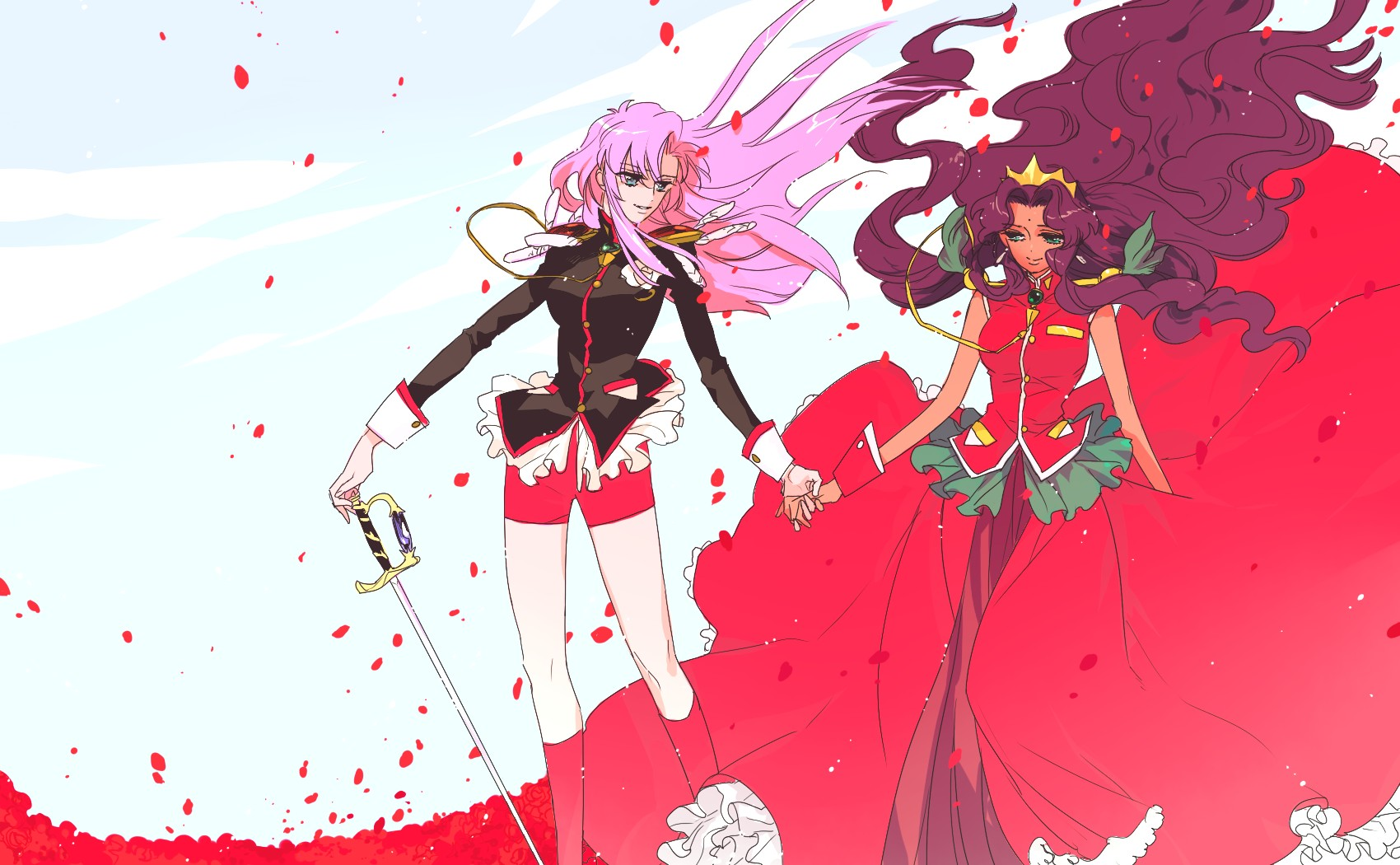 utena girls Searching for the perfect utena items shop at etsy to find unique and handmade utena related items directly from our sellers.
