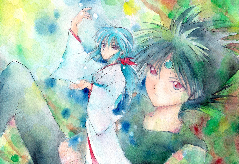 5 hiei  yu yu hakusho  hd wallpapers