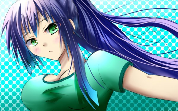 Anime Is This a Zombie? HD Wallpaper   Background Image
