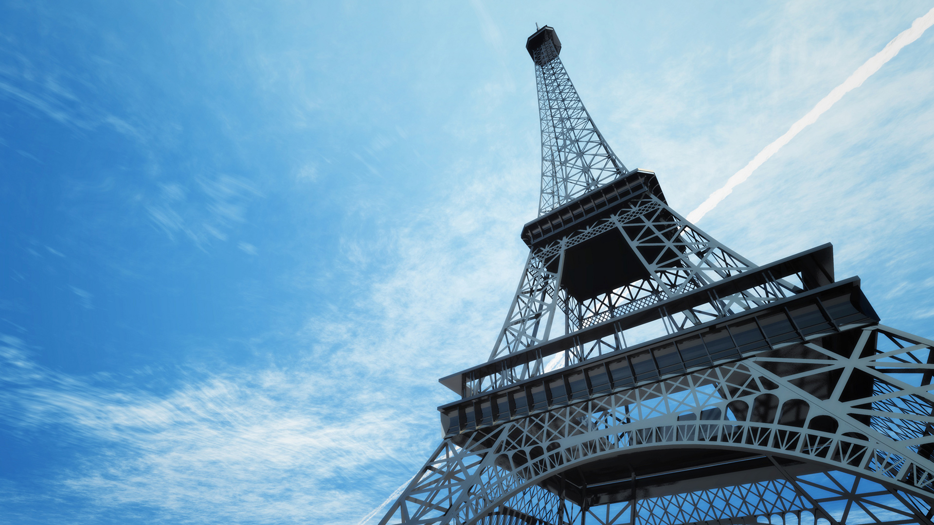 eiffel tower full hd wallpaper and background image. Black Bedroom Furniture Sets. Home Design Ideas