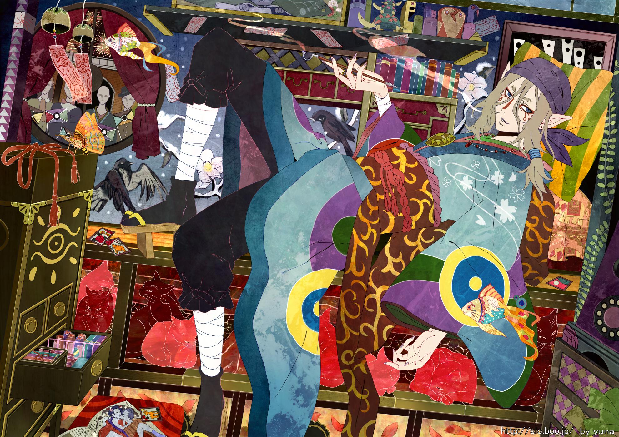 Mononoke hd wallpaper background image 1980x1399 id - Mononoke anime wallpaper ...