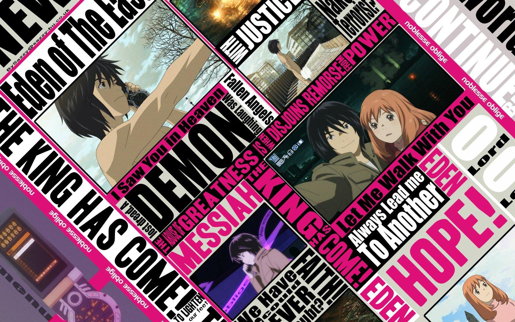 Anime - Eden Of The East  Wallpaper