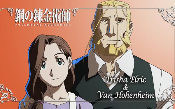 Anime FullMetal Alchemist Fullmetal Alchemist Trisha Elric Van Hohenheim HD Wallpaper   Background Image
