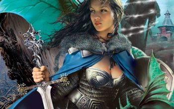Fantasy - Women Warrior Wallpapers and Backgrounds ID : 231165