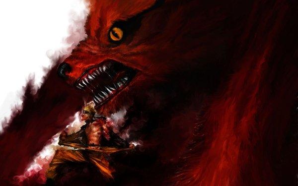 Anime Naruto Fox Naruto Uzumaki Kurama HD Wallpaper | Background Image