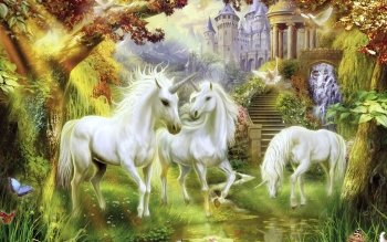 Fantasy - Unicorn Wallpapers and Backgrounds ID : 232507