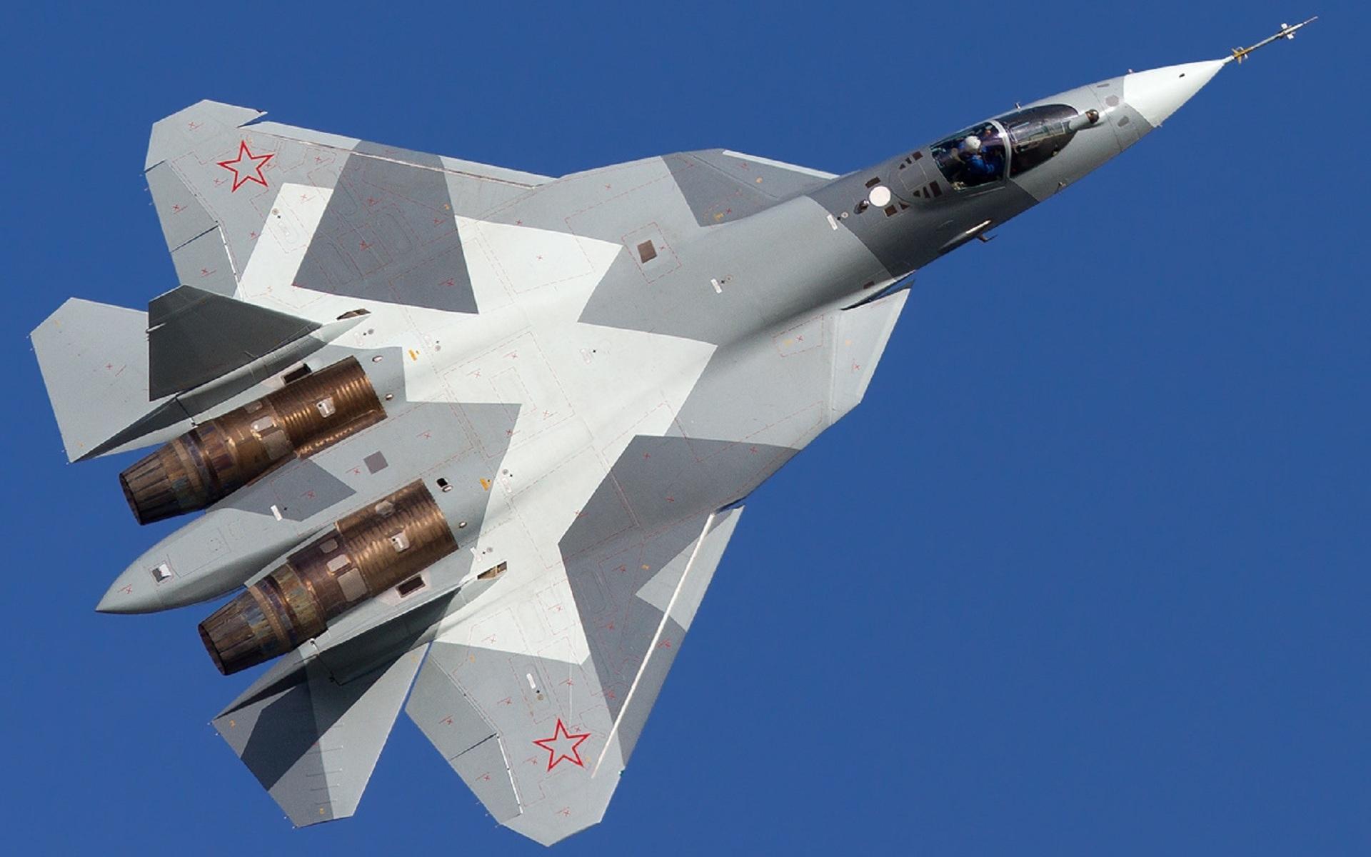 Aereo Da Caccia Dei Russi : T pak fa fighter full hd wallpaper and background image