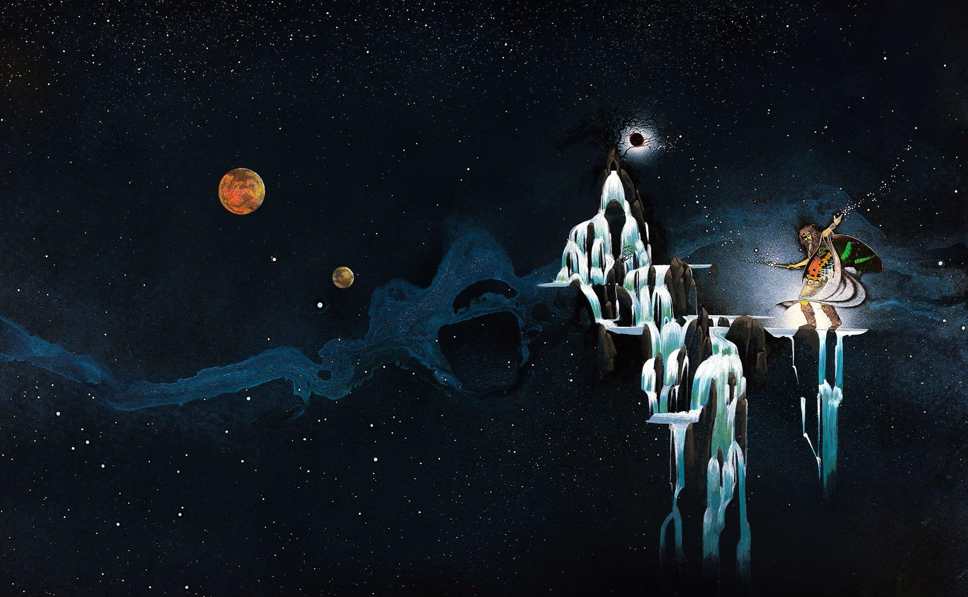 Space Demonic Art Hd Wallpaper: Uriah Heep – Demons And Wizards HD Wallpaper