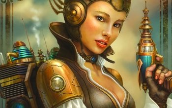 Science-Fiction - Steampunk Wallpapers and Backgrounds ID : 234115