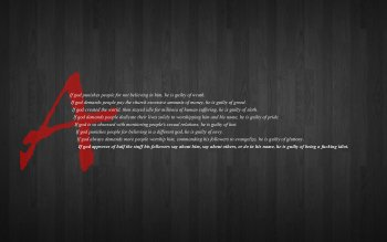 Religious - Atheism Wallpapers and Backgrounds ID : 234429