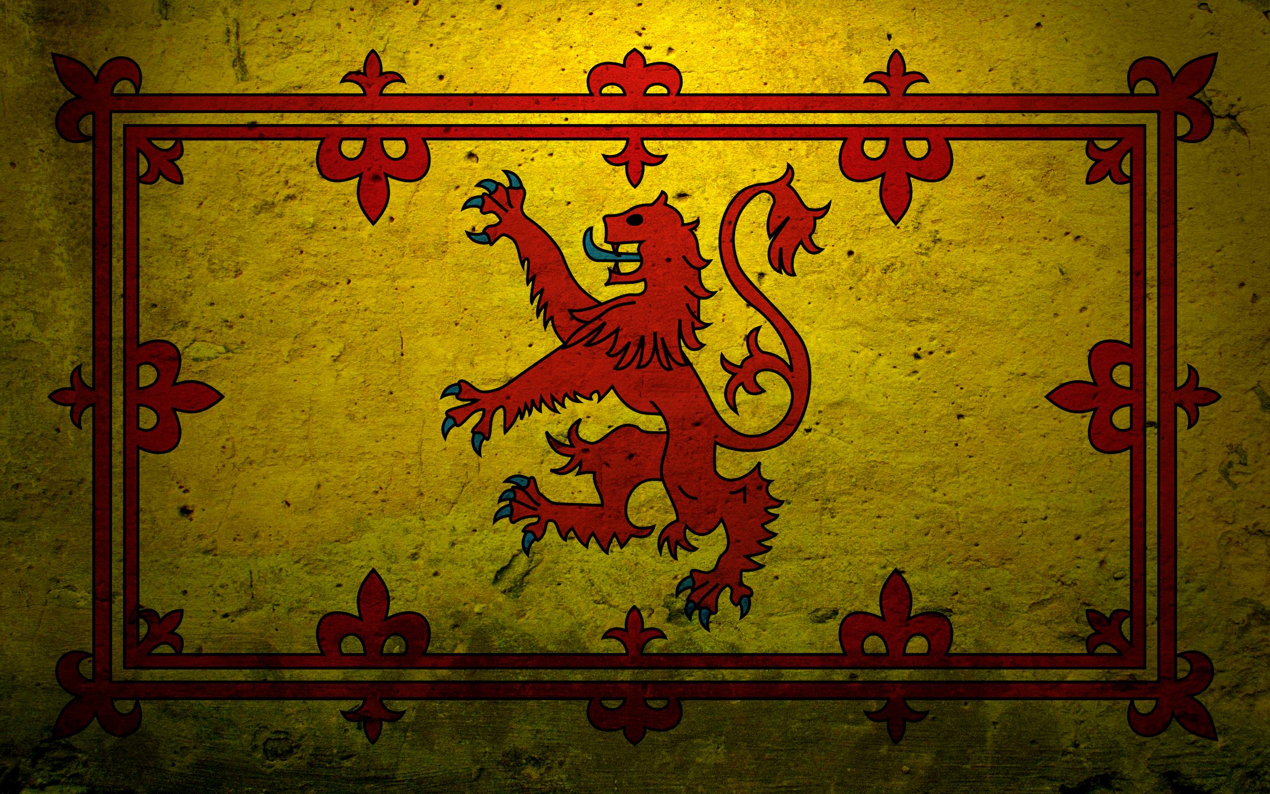 scottish lion rampant full hd wallpaper and background 2560x1600