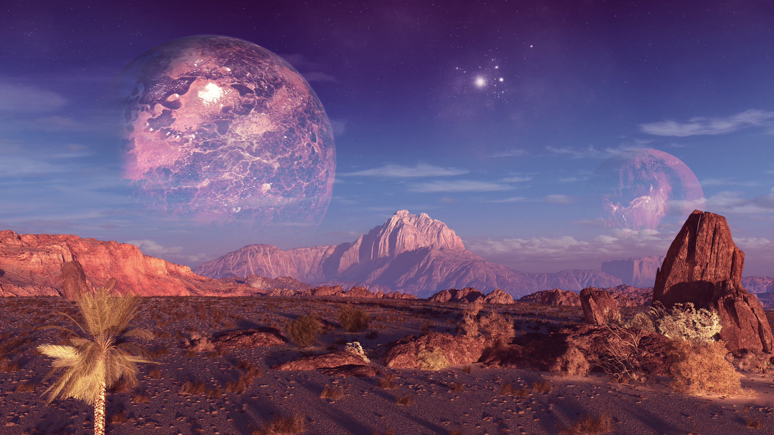 Planets HD Wallpaper | Background Image | 2560x1440 | ID ...