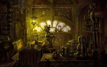 Science-Fiction - Steampunk Wallpapers and Backgrounds ID : 236077