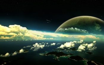 Sci Fi - Planet Rise Wallpapers and Backgrounds ID : 236795