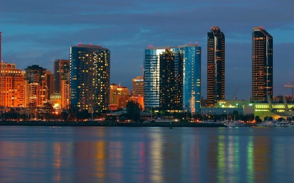 Man Made City Cities California San Diego HD Wallpaper | Background Image