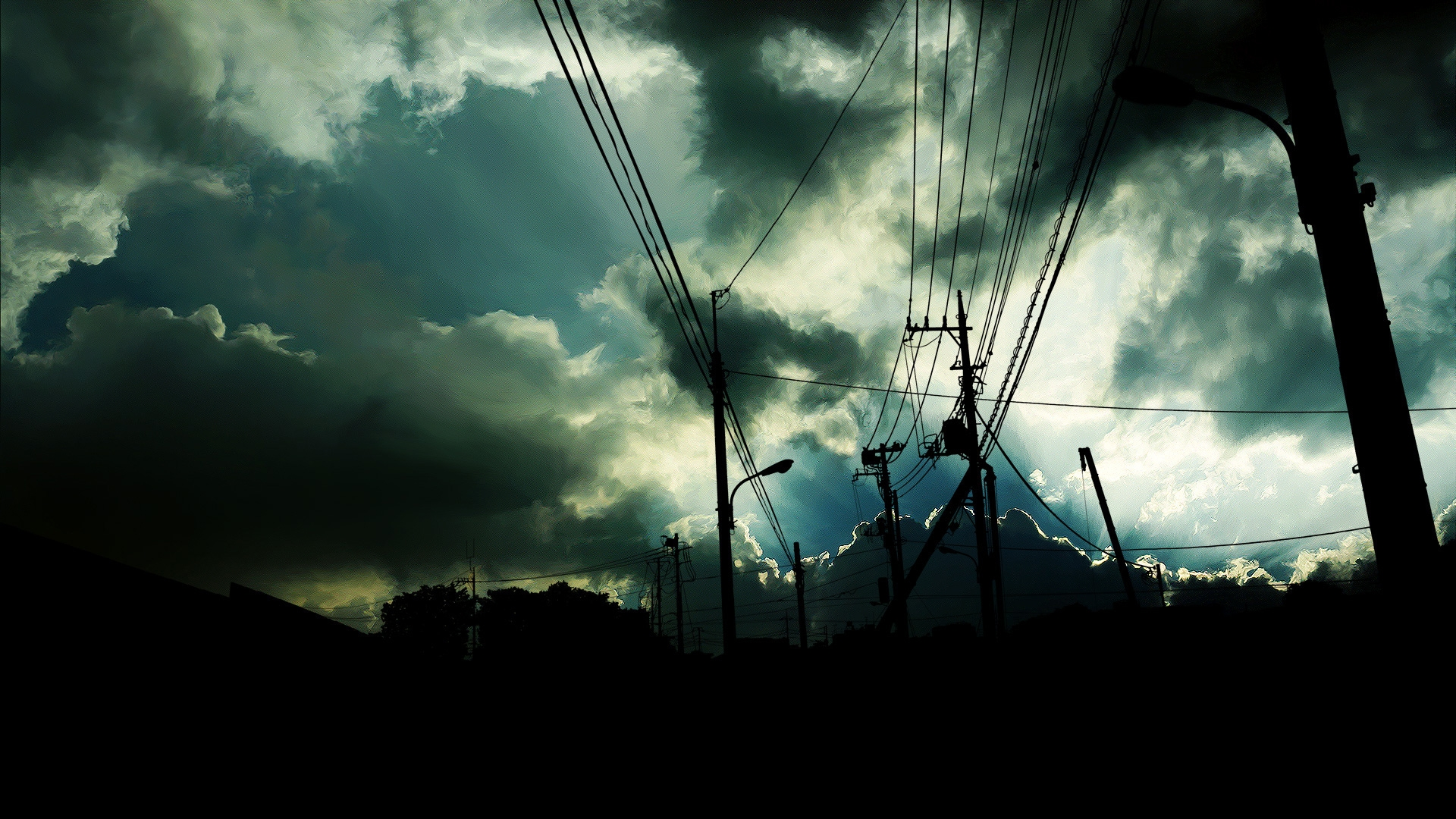 Power Line Full HD Wallpaper and Background | 1920x1080 ...