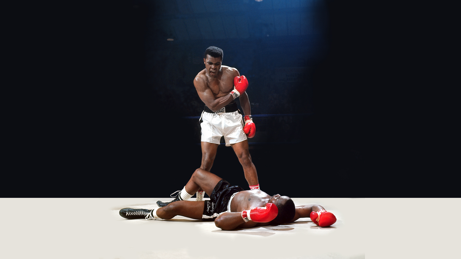Muhammad Ali Vs Sonny Liston Full HD Wallpaper And Background Image
