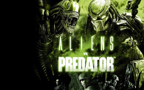 Videospel Aliens Vs. Predator Alien Alien vs. Predator Predator HD Wallpaper | Achtergrond