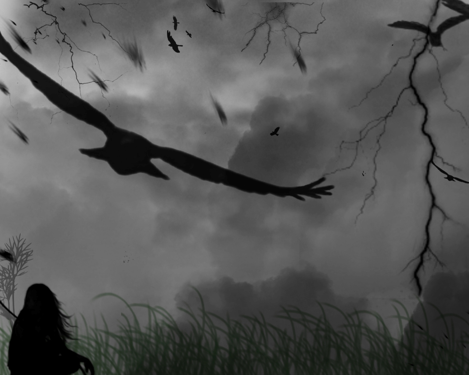 The Crow Wallpaper And Background Image 1500x1200 Id 238475