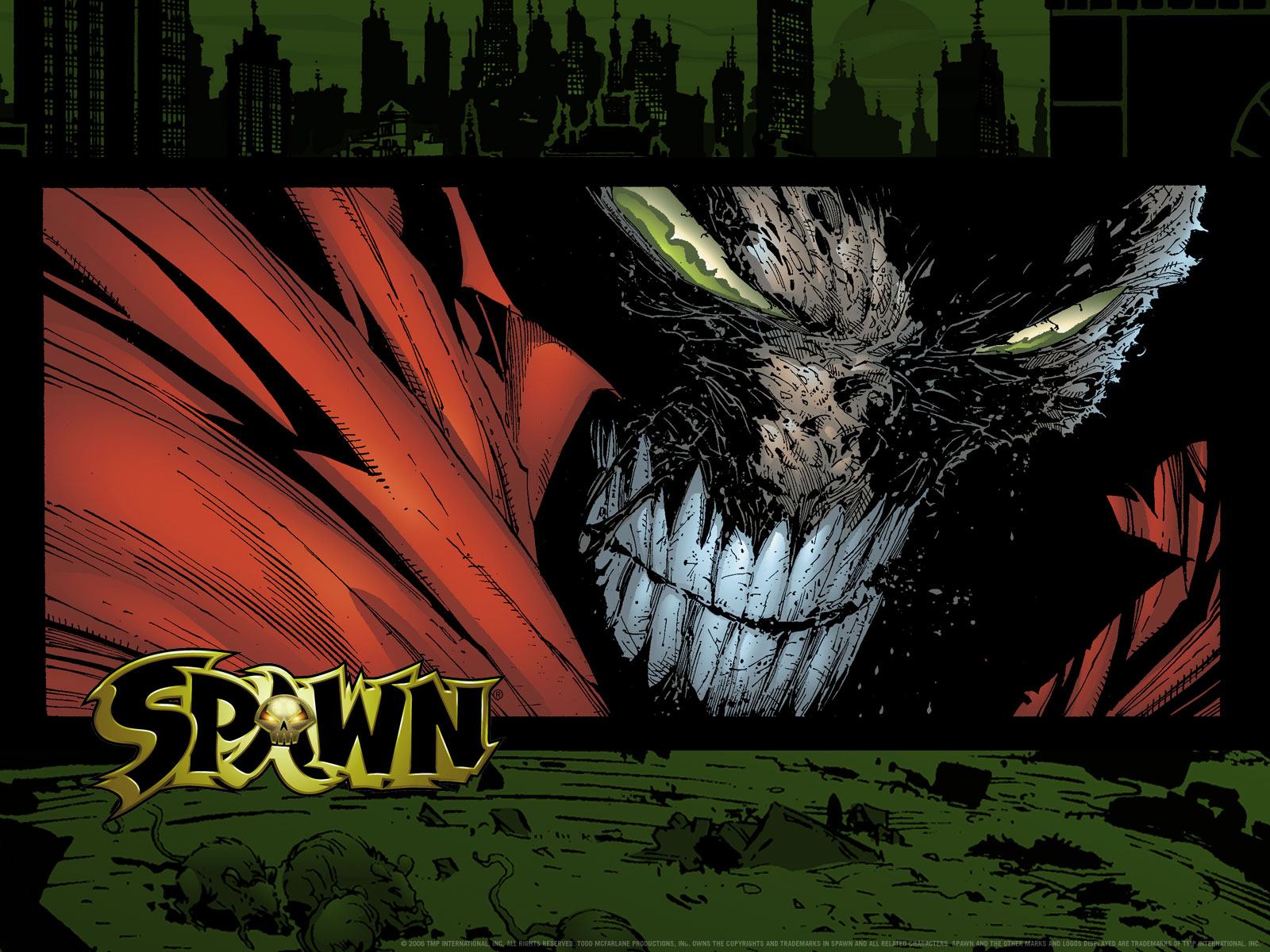 Spawn Wallpaper And Background Image