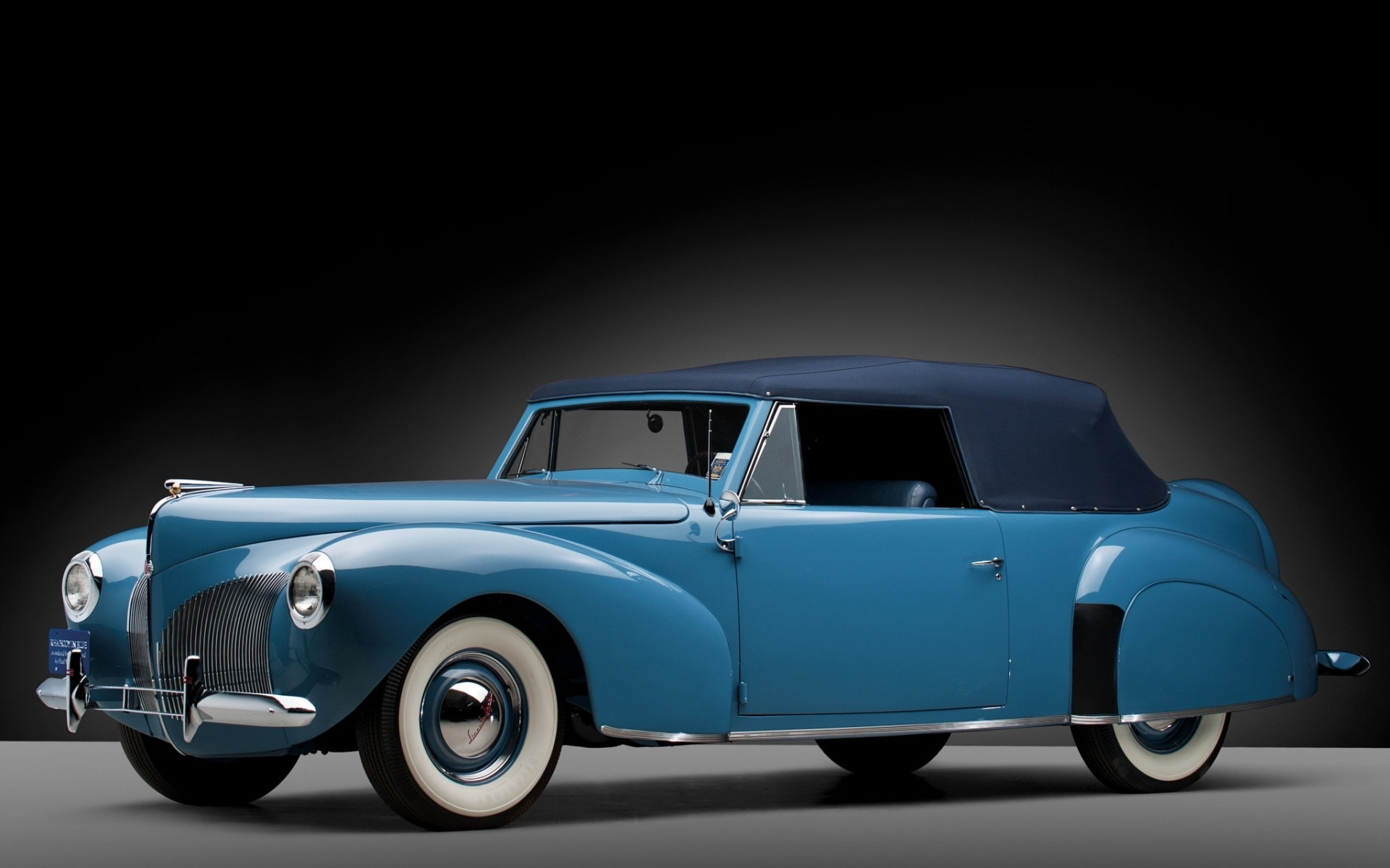 1939 lincoln zephyr convertible computer wallpapers. Black Bedroom Furniture Sets. Home Design Ideas