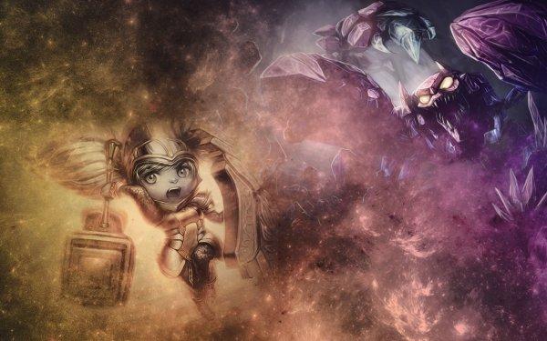 Video Game League Of Legends Skarner Poppy HD Wallpaper   Background Image