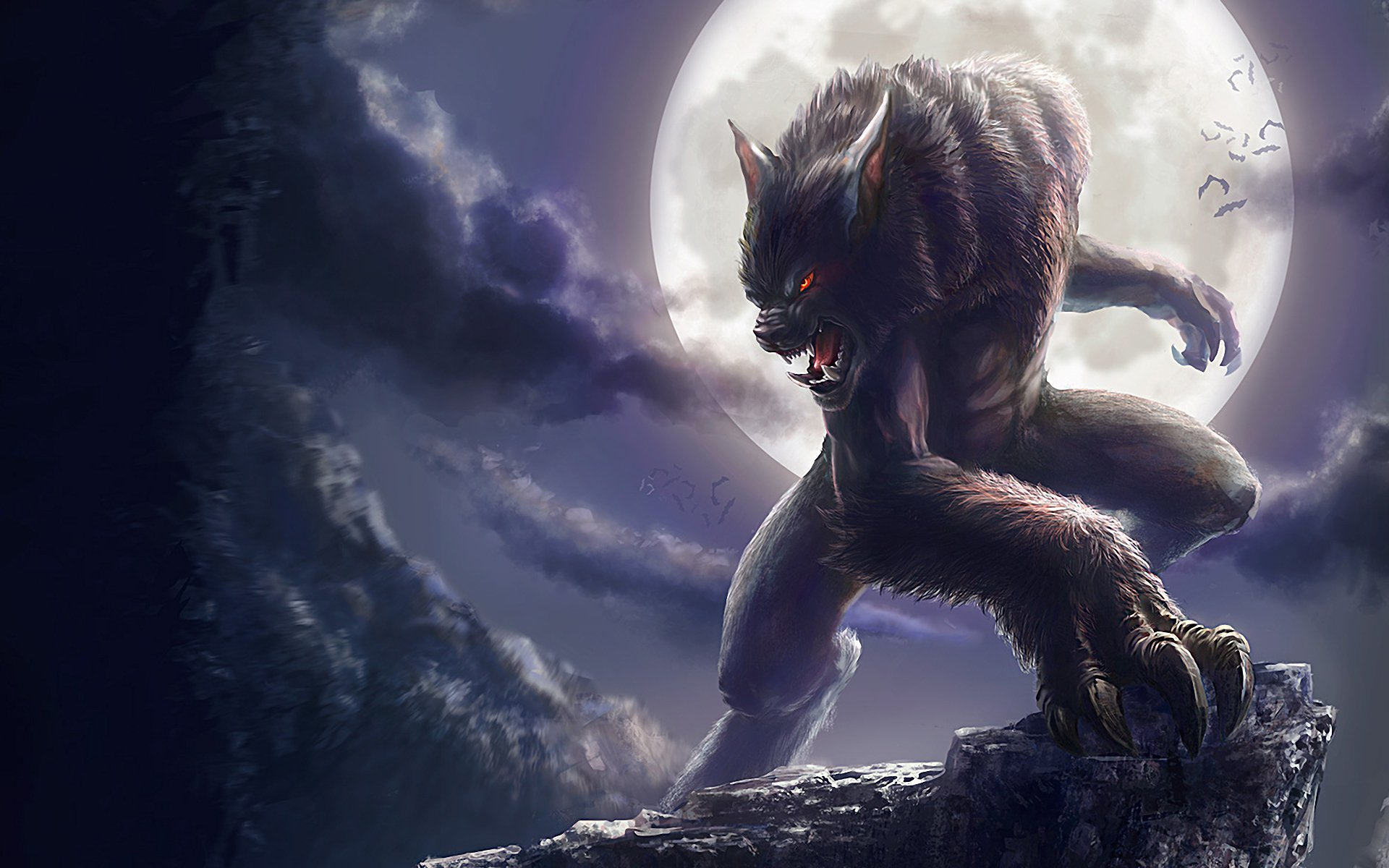 70 Werewolf Hd Wallpapers Background Images Wallpaper Abyss