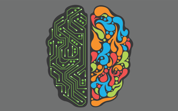 Artistic Brain HD Wallpaper | Background Image