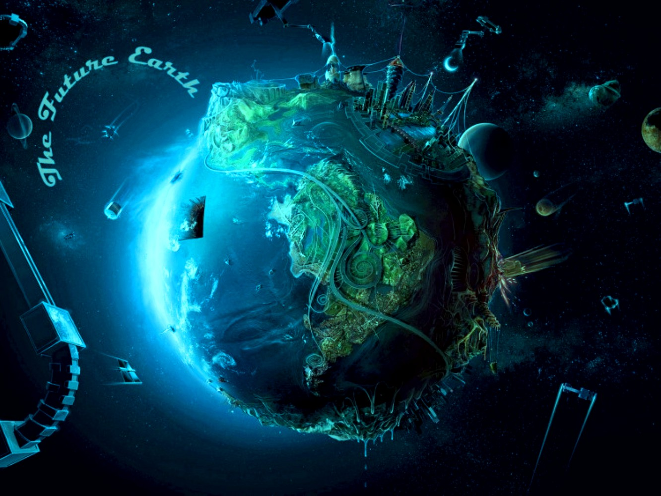 Future Earth Wallpaper and Background | 1332x1000 | ID:240185