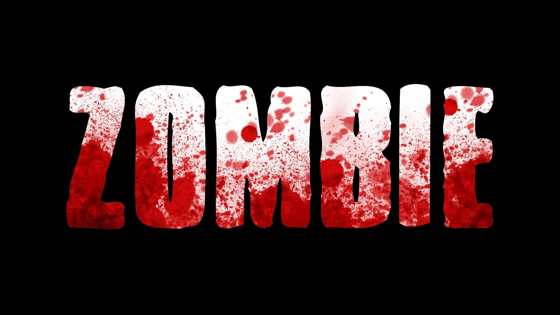 dark zombie wallpaper