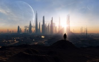 Science-Fiction - Großstadt Wallpapers and Backgrounds ID : 240047