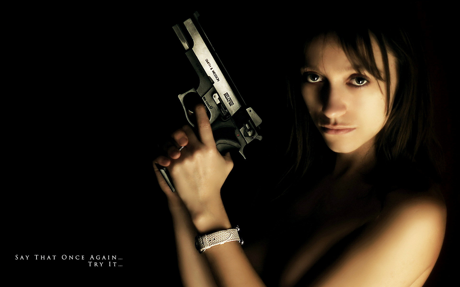 Women and guns full hd wallpaper and background image 1920x1200 women girls guns wallpaper voltagebd Images