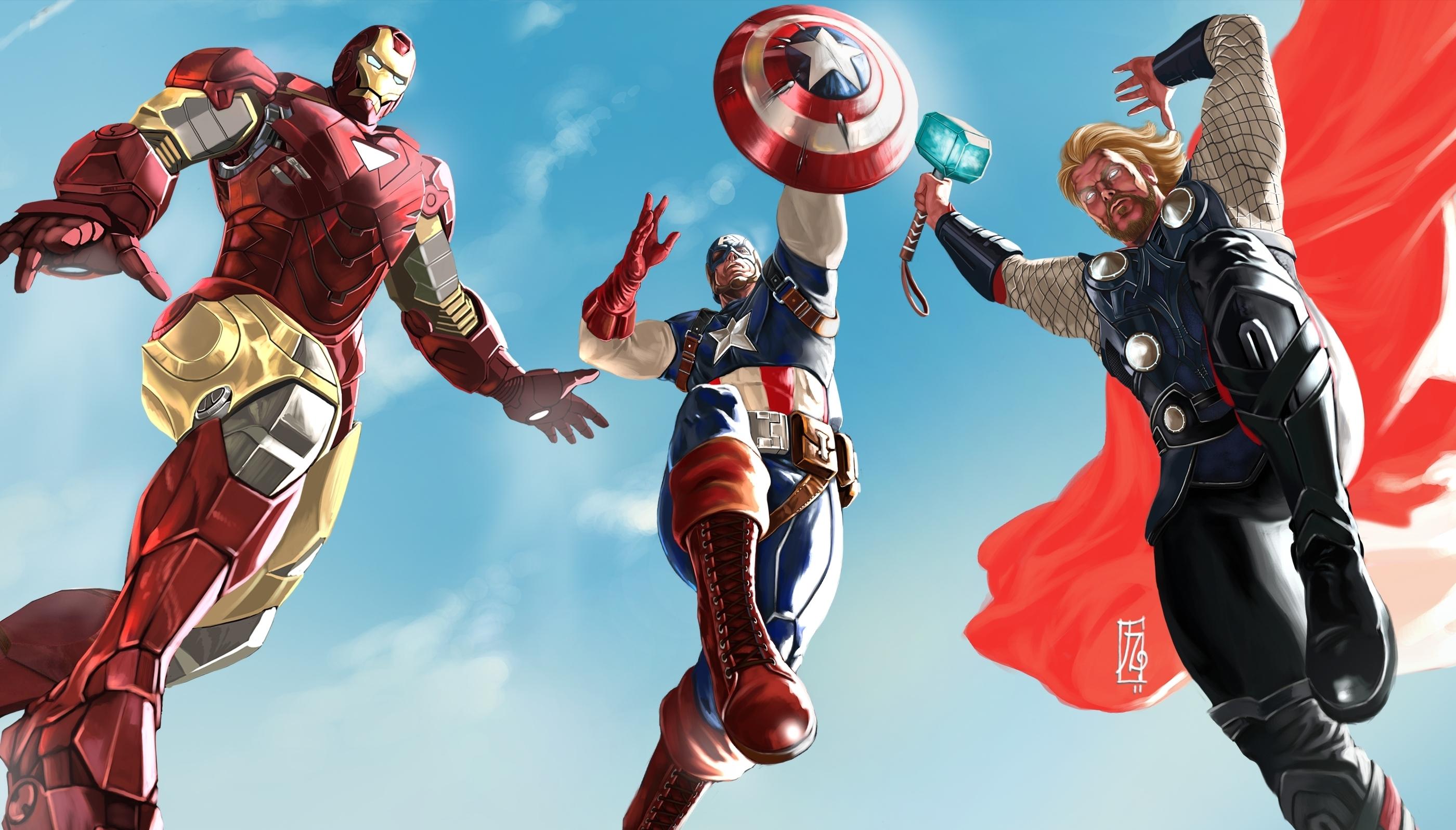 Avengers full hd fond d 39 cran and arri re plan 2800x1595 - Telecharger avengers ...