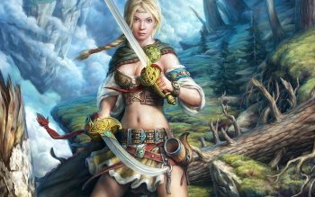 Fantasy - Women Warrior Wallpapers and Backgrounds ID : 242669