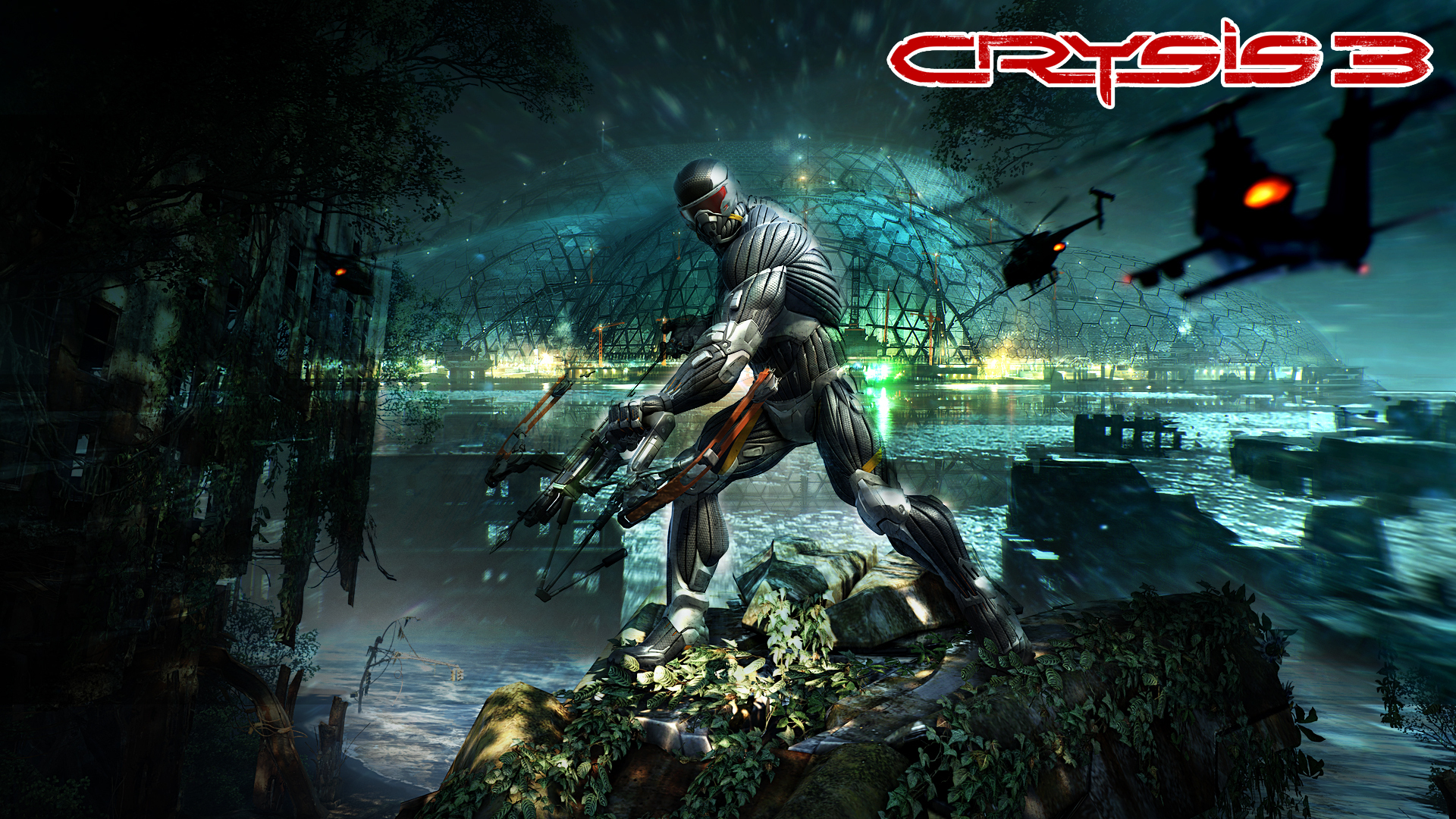 Crysis 3 2013 Video Game 4k Hd Desktop Wallpaper For 4k: Crysis 3 Full HD Wallpaper And Background Image