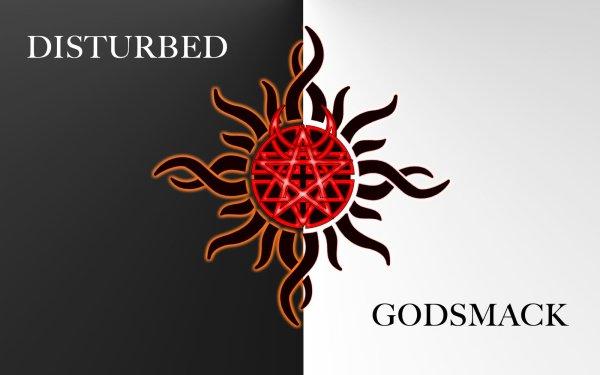 Music Crossover Disturbed Godsmack HD Wallpaper | Background Image