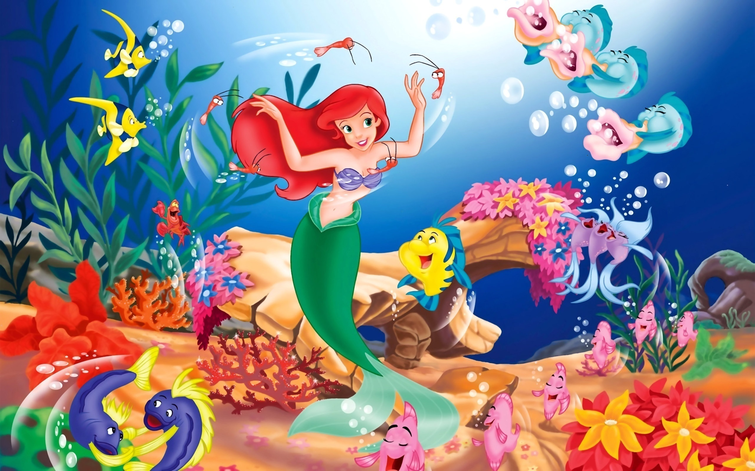 The Little Mermaid HD Wallpaper